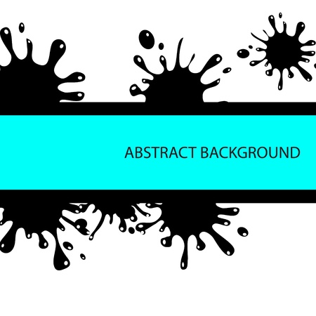 inky: Vector splash abstract background