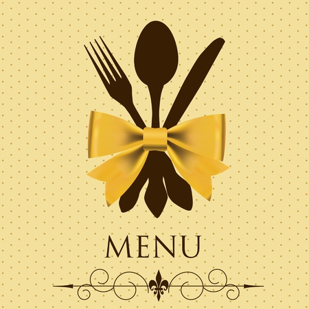 The concept of Restaurant menu  vector illustration