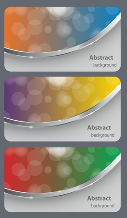 Brochure business card banner abstract background style. vector illustration Vector