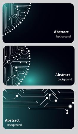 memory board: Plantillas de tarjetas de Busitess con placa de circuito