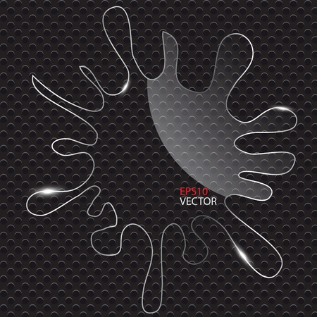 Splash glass icon vector illustration Vector
