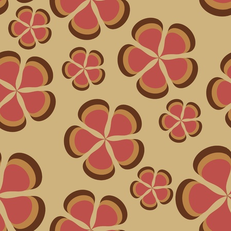 petunia: flower pattern background seamless