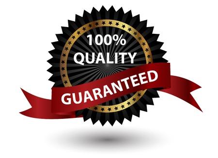 Hoge kwaliteit label Vector illustratie teken Vector Illustratie