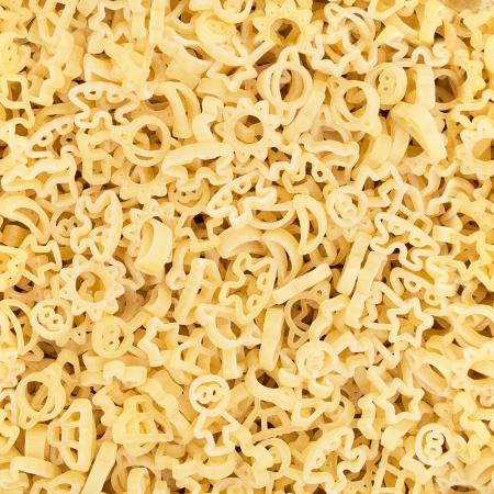 pennie: Italian pasta seamless pattern background