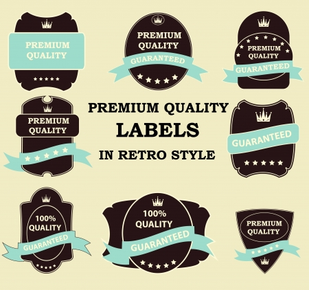 Best Seller label with red ribbon  Stock Vector - 13810745