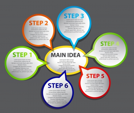 multiple: Business Presentation Diagram
