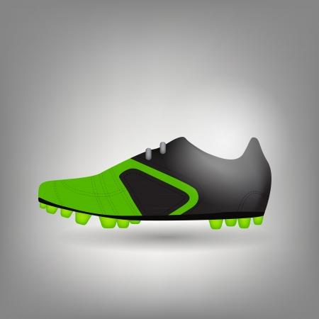 nfl football: football boot icon vector illustration
