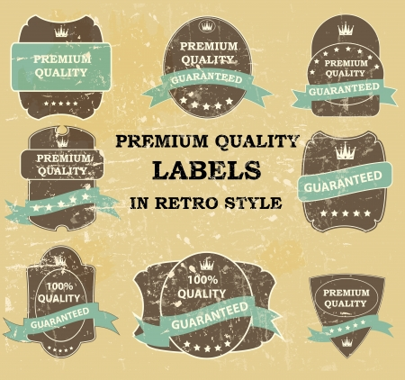 Best Seller label with red ribbon  Vector