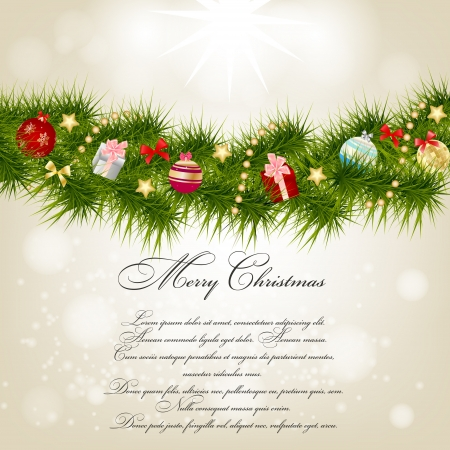 copy: Abstract beauty Christmas and New Year background