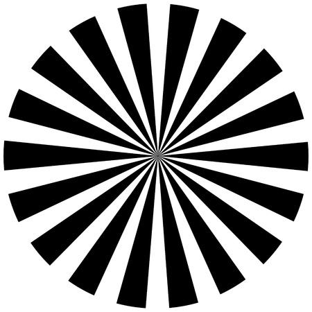 hypnotique: Noir et blanc fond hypnotique