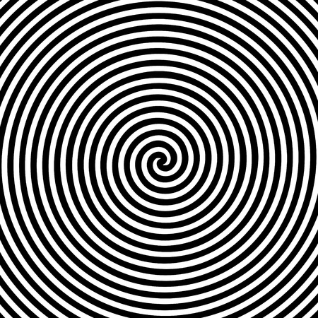 hypnotic: Black and white hypnotic background.