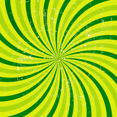 Lime abstract grunge hypnotic background. vector illustration