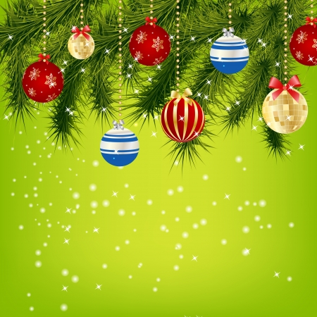 background lights: Abstract beauty Christmas and New Year background.