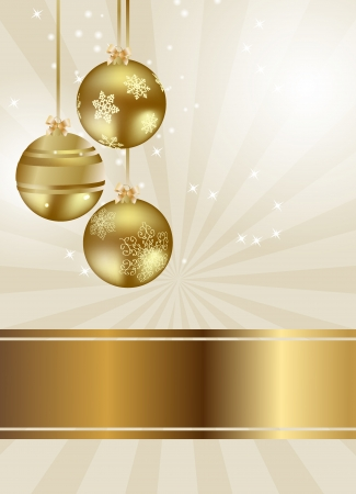 shiny background: Abstract beauty Christmas and New Year background