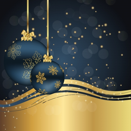 holiday party: Abstract beauty Christmas and New Year background
