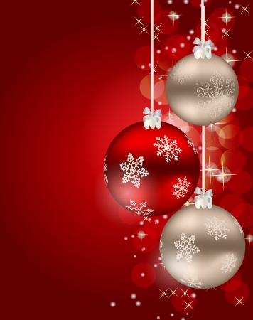 Abstract beauty Christmas and New Year background
