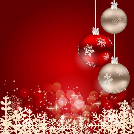 adornos navideños: Resumen belleza de Navidad y Año Nuevo fondo.