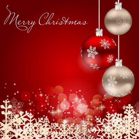 background lights: Abstract beauty Christmas and New Year background
