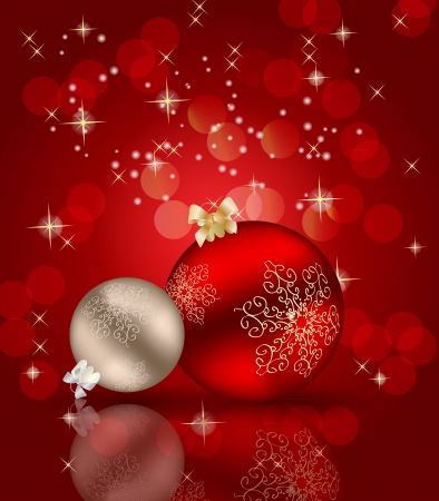 Abstract beauty Christmas and New Year background.  Stock Vector - 15051042