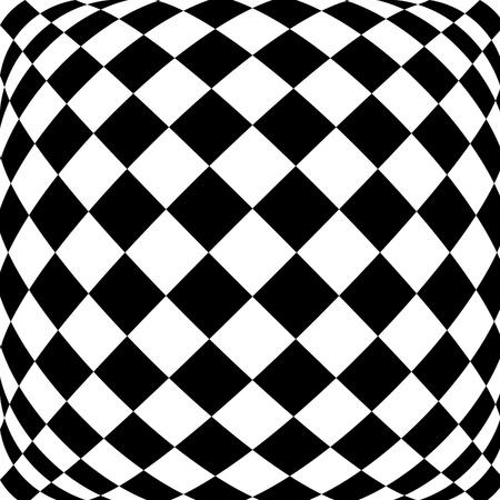 hypnotique: Fond noir et blanc hypnotique