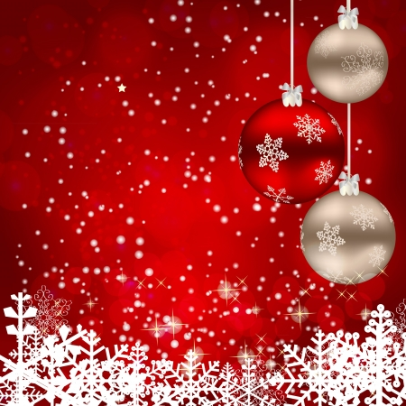 christmas  ornament: Abstract beauty Christmas and New Year background