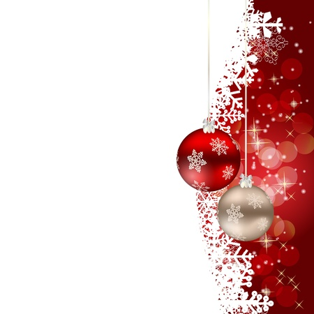 Abstract beauty Christmas and New Year background Stock Vector - 15400042