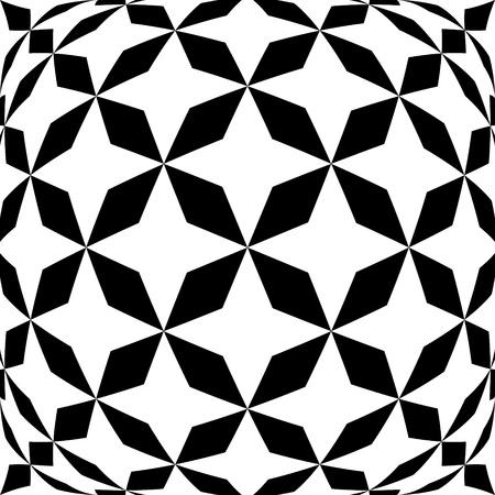 hypnotic: Black and white hypnotic background  Illustration