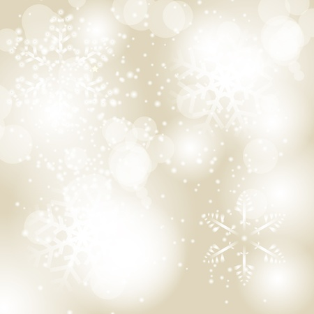 white background: Abstract beauty Christmas and New Year background  Vector illust