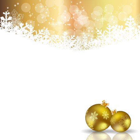 brightly: Abstract beauty Christmas and New Year background