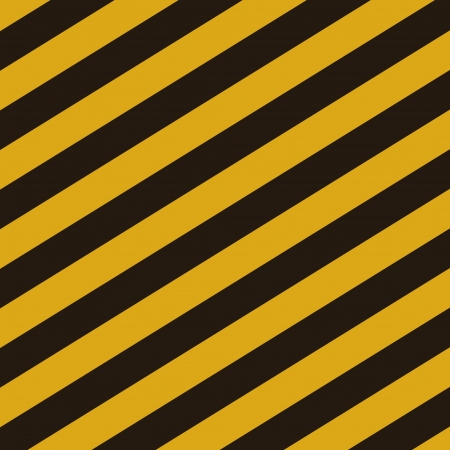 hazardous area sign: Grunge striped construction background illustration
