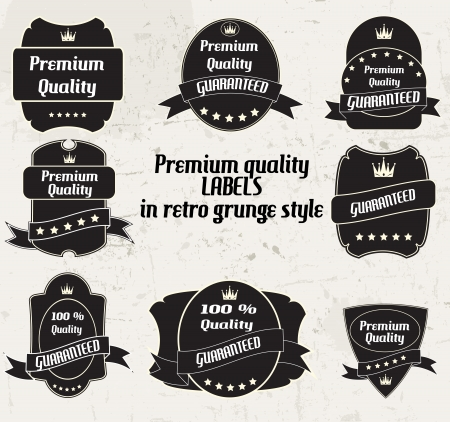 Vector Best Seller label with red ribbon  Vector