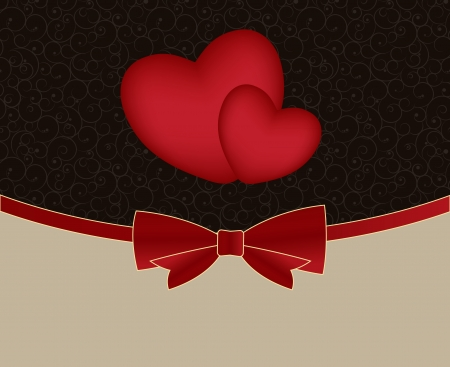 Valentines day card, vector illustration illustration