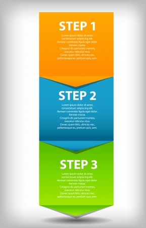 concept of  business process improvements chart  Vector illustra Vector