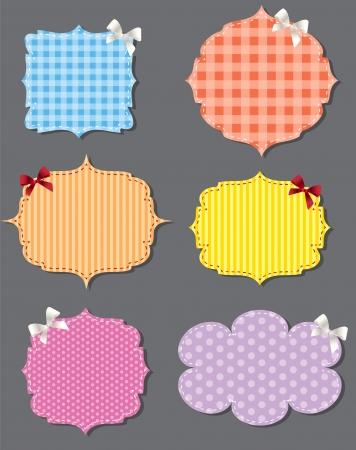 set of different speech bubbles,  design elements Stock Vector - 17127513
