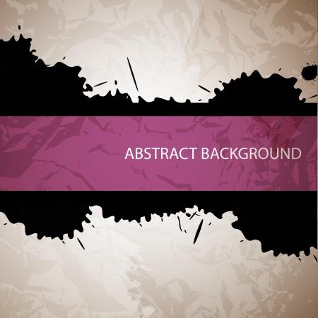 Vector splash abstract background Stock Vector - 18024446