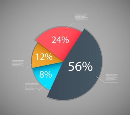 graficos de barras: Dise�o Infographic plantilla ilustraci�n vectorial
