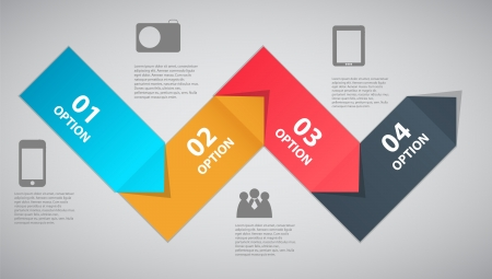 graphic business diagram collection: Infographic template design vector illustration