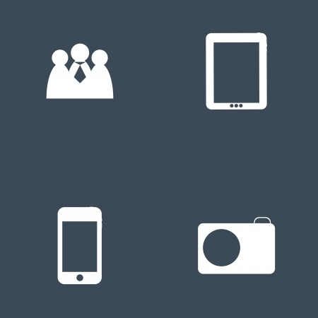Set of icon for Infographic template design vector illustration Vector
