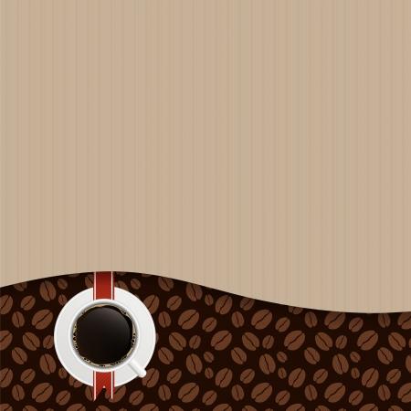Coffee house menu template vector illustration Vector