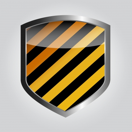 blue shield: Protect  shield vector illustration