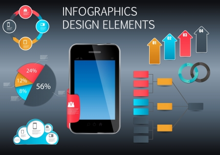 Infographic template business vector illustration Vector