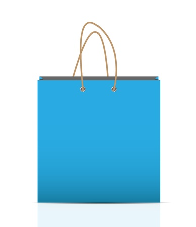Empty Shopping Bag  for advertising and branding Stock Vector - 19211991