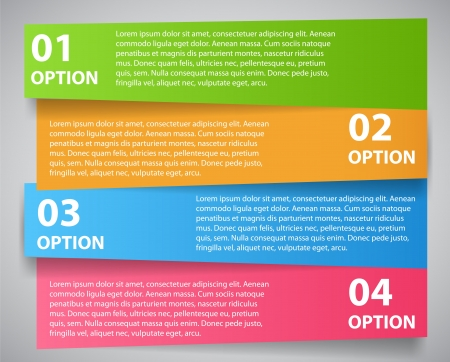 Infographic template vector illustration Vector