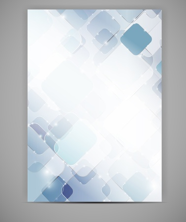 certificate background: Business blank template illustration