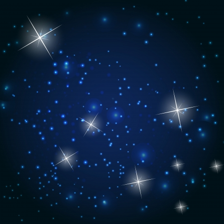 Star sky vector illustration background Vector