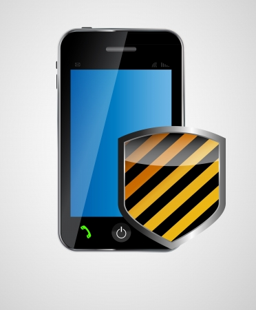security phone concept vector illustration Stock Vector - 20228034