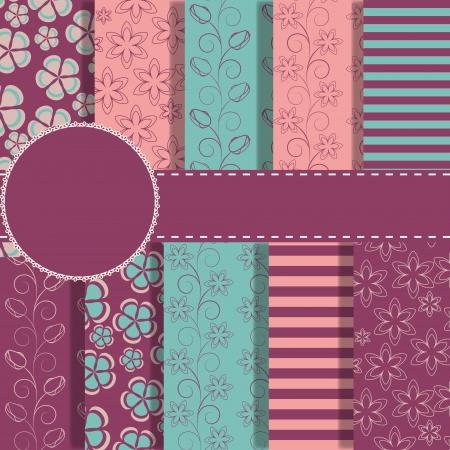 paper craft: un conjunto de hermoso papel de bloc de notas