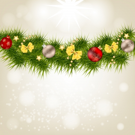 Abstract beauty Christmas and New Year background. Stock Vector - 20601138