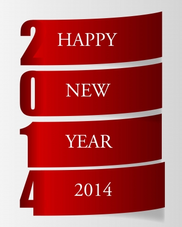 2014 beauty Christmas and New Year background. Stock Vector - 20600787
