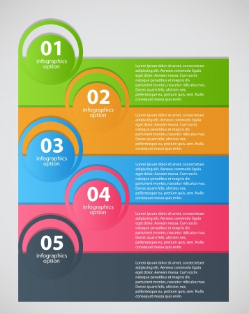 Infographic business template vector illustration illustration